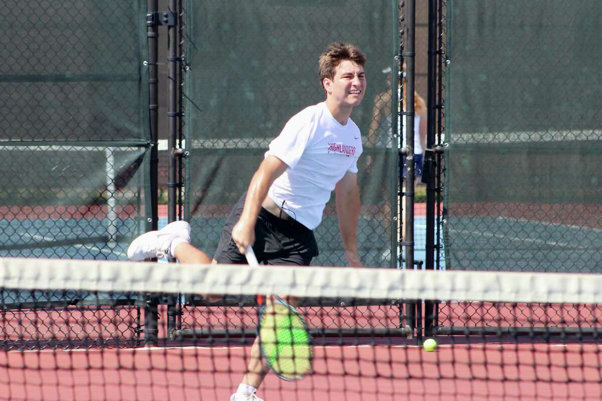 Dylan Turnbull competes for The Woodlands in a non-district match against Kingwood on Aug. 31, 2021.