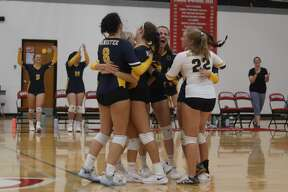 Manistee and Benzie Central square off in a nonconference volleyball match on Aug. 31 at Benzie Central.