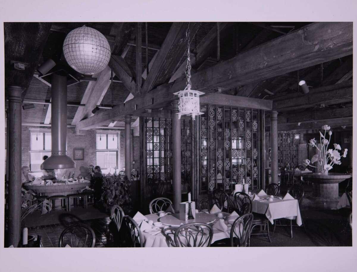 Inside Cecilia Chiang's famous Mandarin restaurant in San Francisco.