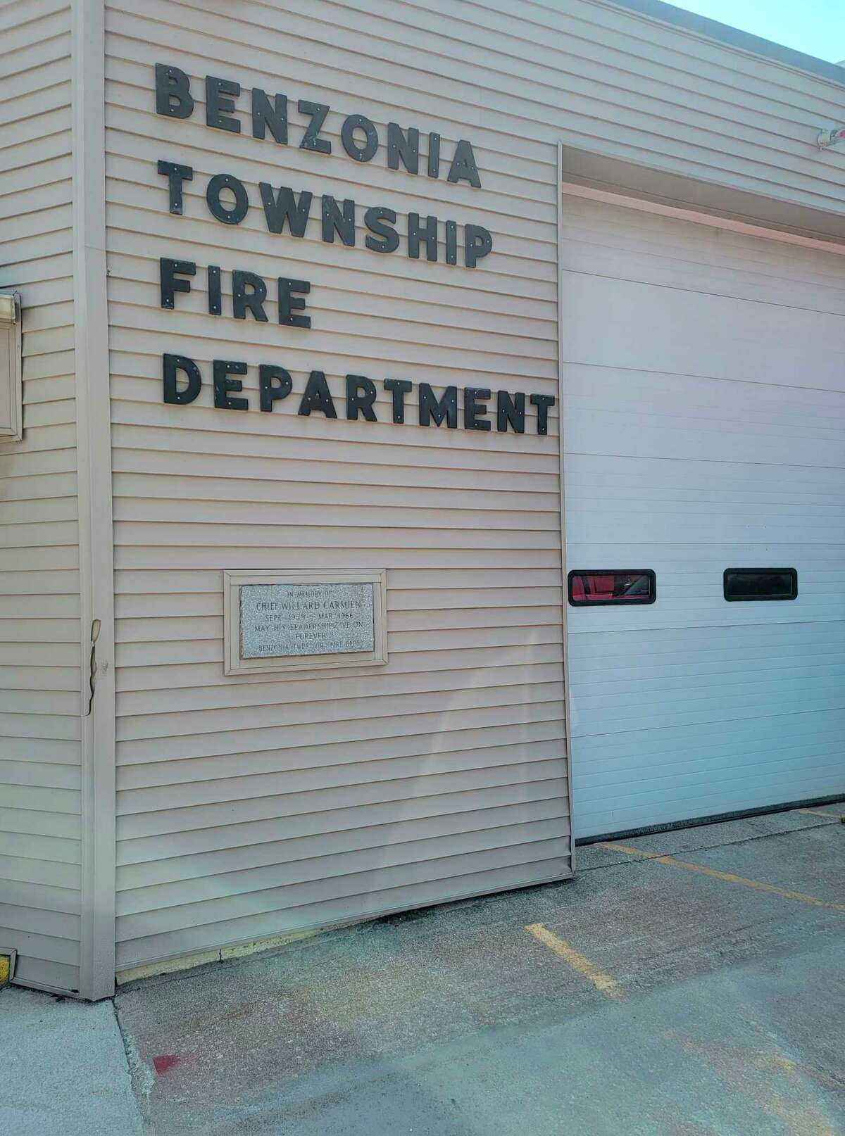 Voters in Benzie will decided on several millage items in November, including the idea of a bond forbuilding a new firehouse and township offices in Benzonia Township. (Colin Merry/Record Patriot)