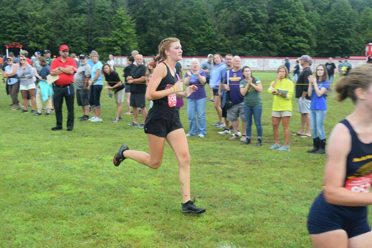 Nora Smoes has gotten off to a strong start for Reed City's girls cross country team. (Courtesy photo)