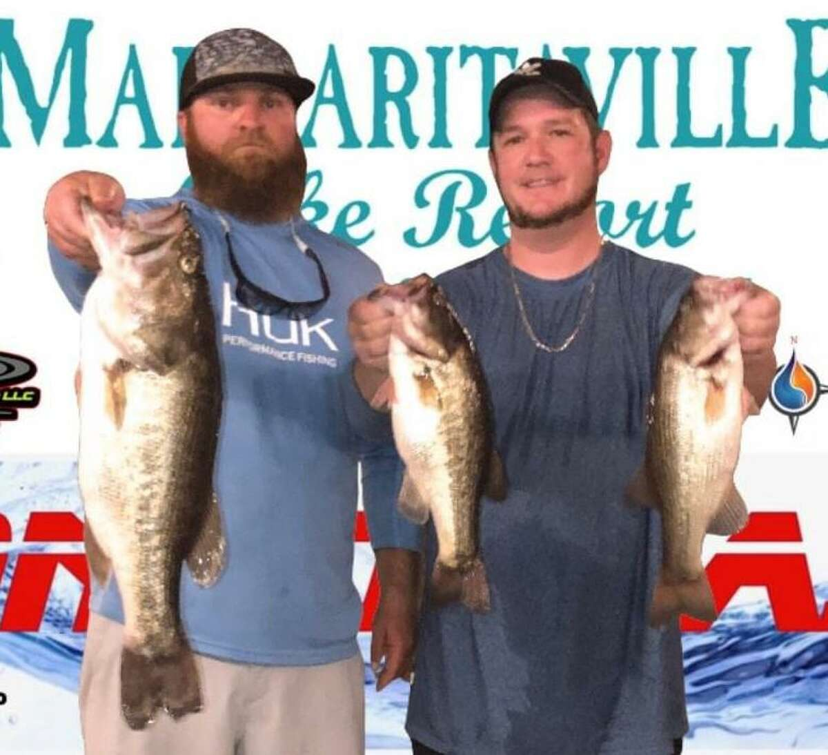 Aaron Self and Brandon Sheridan came in second place in the CONROEBASS Tuesday Tournament with a weight of 10.53 pounds.