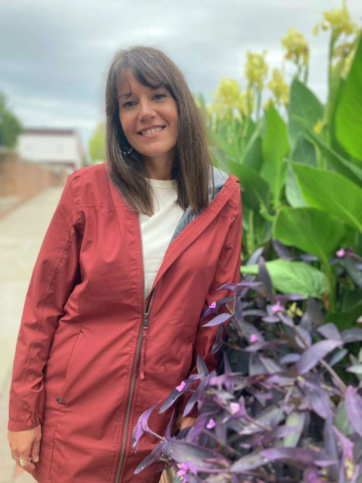 Pictured is Stephanie Richardson, horticulturist for the City of Midland. (Photo by Edward Hutchison/For the Daily News)
