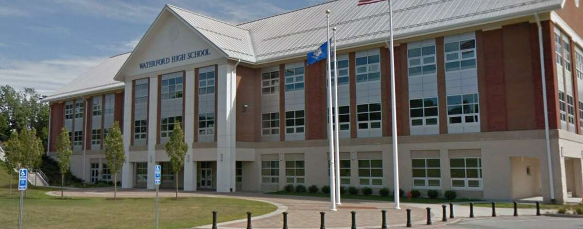 Waterford High School is located at 20 Rope Ferry Road.