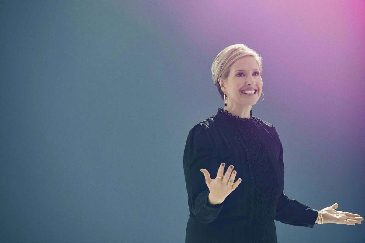 New York Times best-selling author and University of Houston research professor Brene Brown