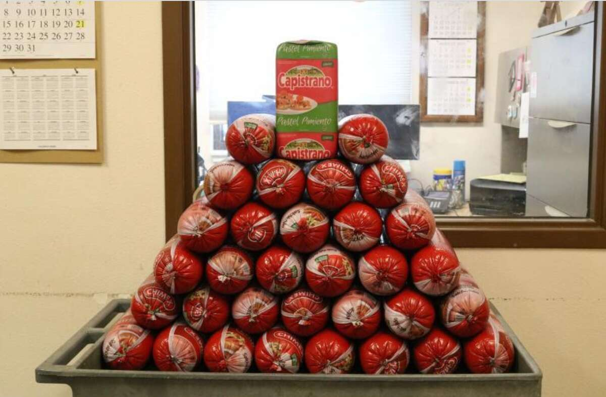 U.S. Customs and Border Patrol seized over 300 pounds of deli meat in El Paso.