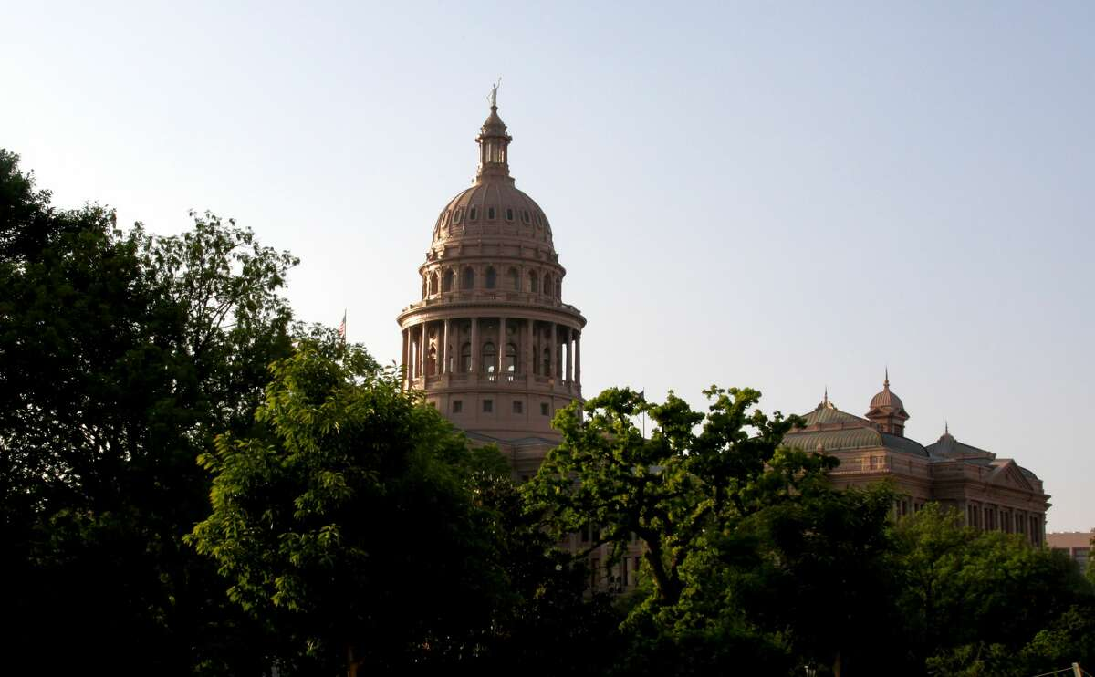 The Texas State Capitol building, located on 1100 Congress Avenue in Austin, Texas, was constructed between 1882-1888.