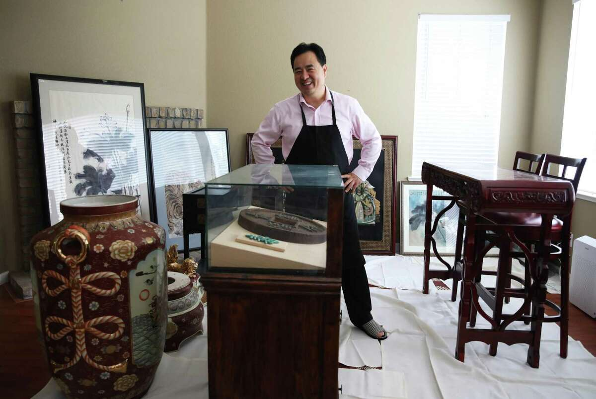 Cecilia Chiang superfan Nee Lau treasures the items he purchased from an auction after the Mandarin closed in 2006. It's not clear if they were Chiang's, though.
