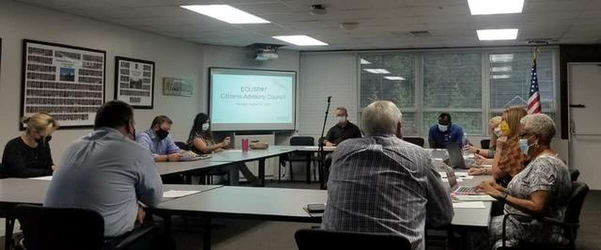 The District 7 Citizens Advisory Council committee held a meeting open to the public Monday evening.