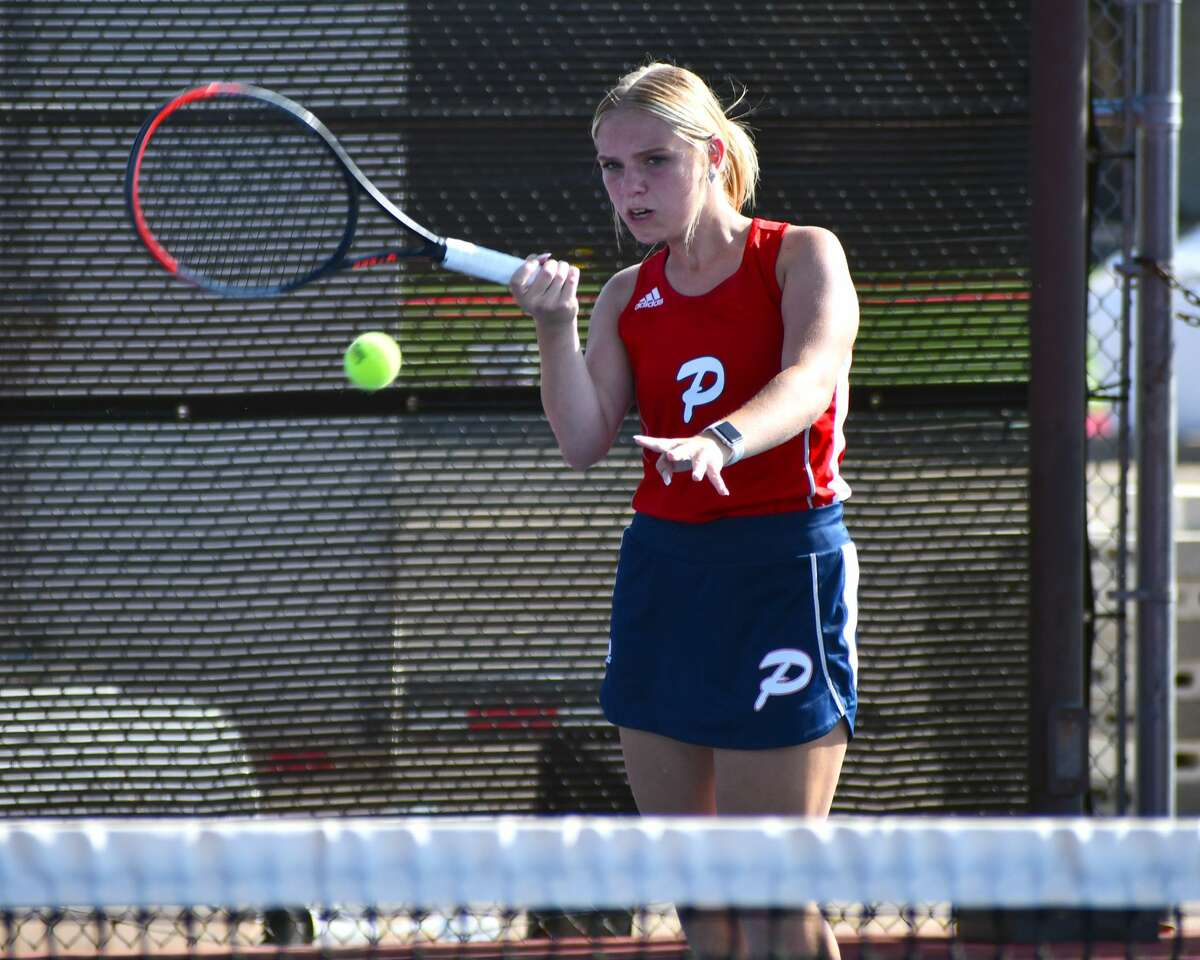 The Plainview tennis team hosted Canyon Randall in a District 3-5A match on Tuesday at Plainview High School. Plainview lost 19-0.