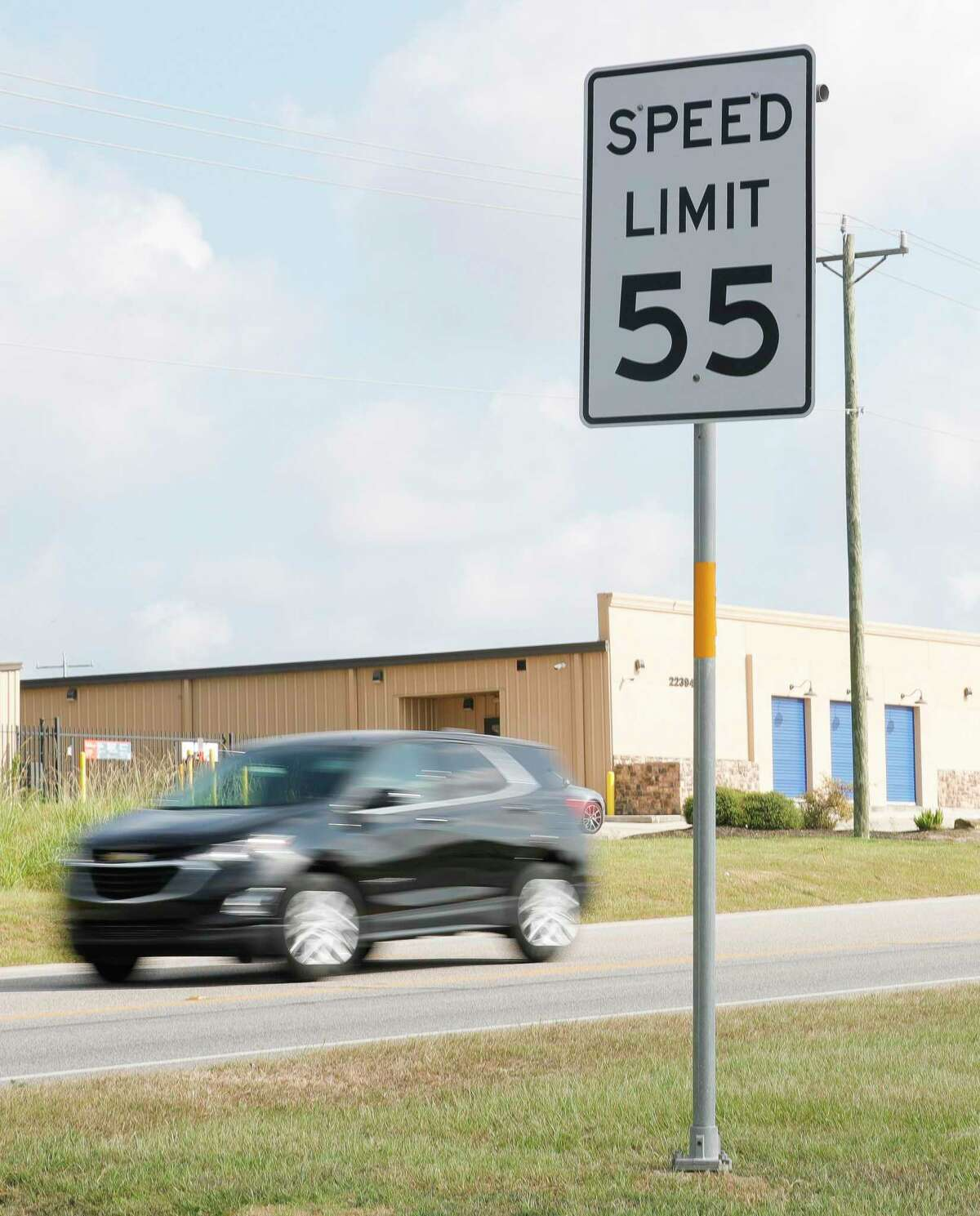 The city of Montgomery is hoping to get TxDOT to lower the speed limit from 55 miles per hour to 45 along FM 1097.