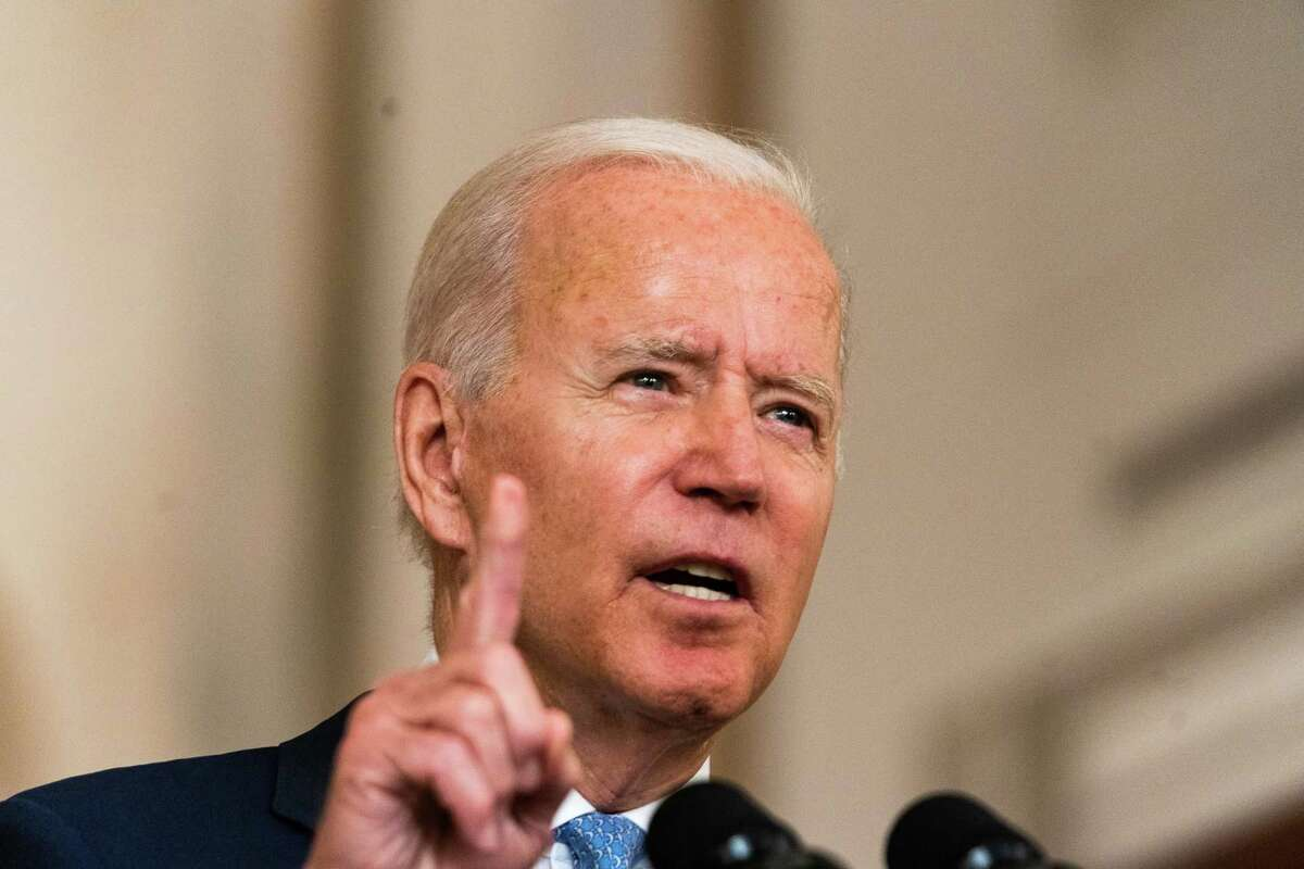 """""""This extreme Texas law blatantly violates the constitutional right established under Roe v. Wade and upheld as precedent for nearly half a century,"""" President Biden said Sept. 1, 2021."""