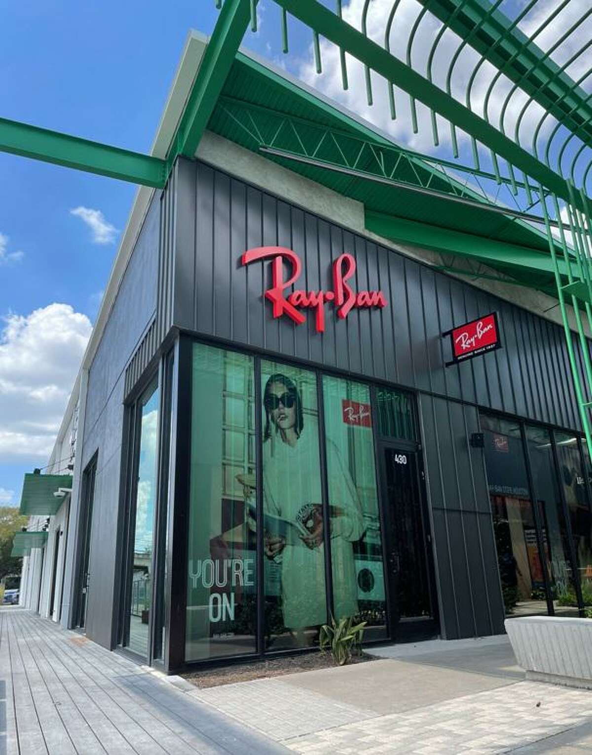 Ray-Ban has a new store in M-K-T at 600 N. Shepherd in the Heights.