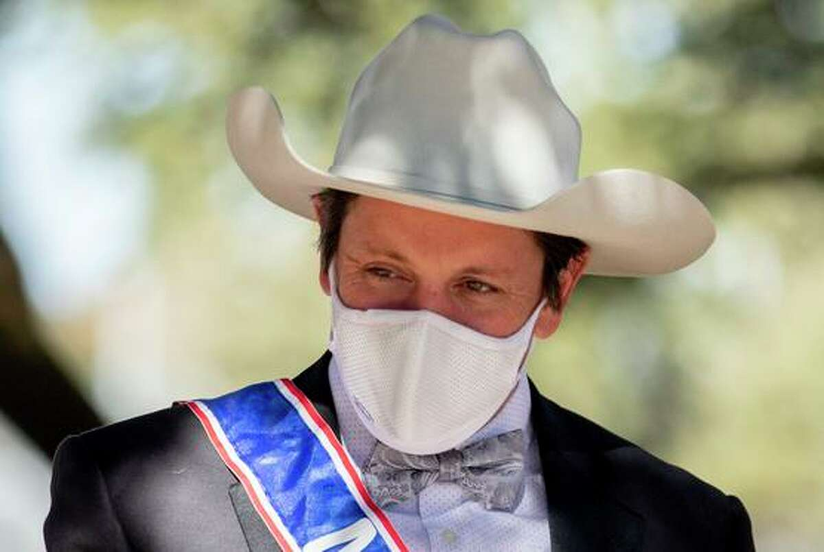 Mayor of Windsor Dominic Foppoli stands for a portrait during a Halloween event at Keiser Park in Windsor, Calif. Saturday, October 31, 2020. Mayor Foppoli has been accused by multiple women of sexual assault dating as far back as 2003.