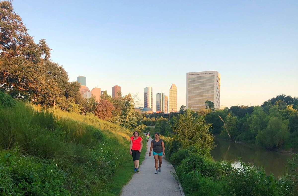 Buffalo Bayou Park Wellness Walk