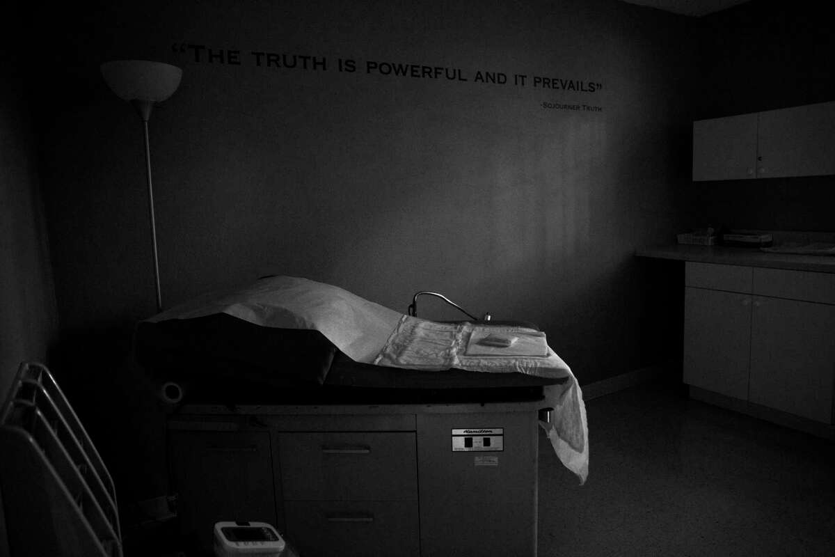 A procedure room in the closed Whole Woman's Health abortion clinic in Austin is seen shortly after the Supreme Court's 5-3 ruling on the Whole Woman's Health v. Hellerstedt case in 2016. Earlier this month a restrictive Texas abortion law went into affect. A recent poll found that most Americans disapprove of the new law.