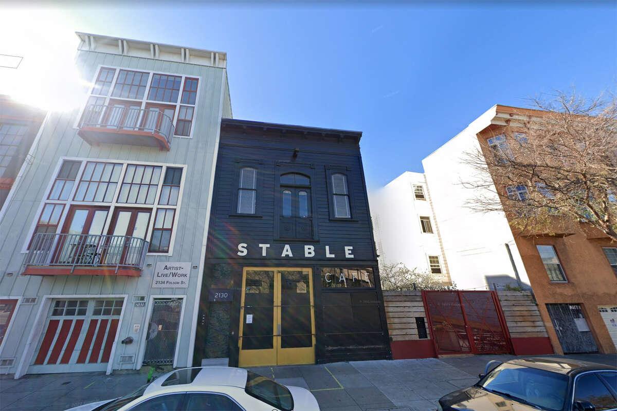 Stable Cafe, 2126 Folsom St.