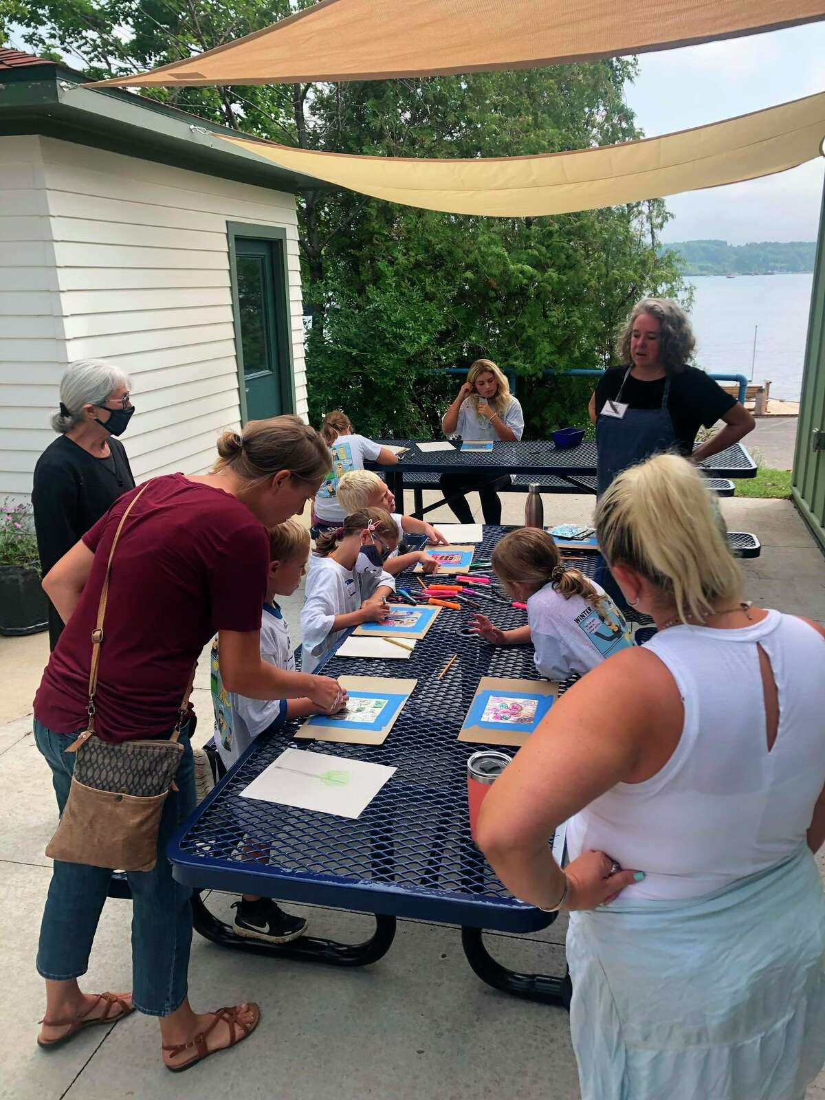 The Oliver Art Center opened a new outdoor classroom to better serve its guests. (Courtesy Photo)