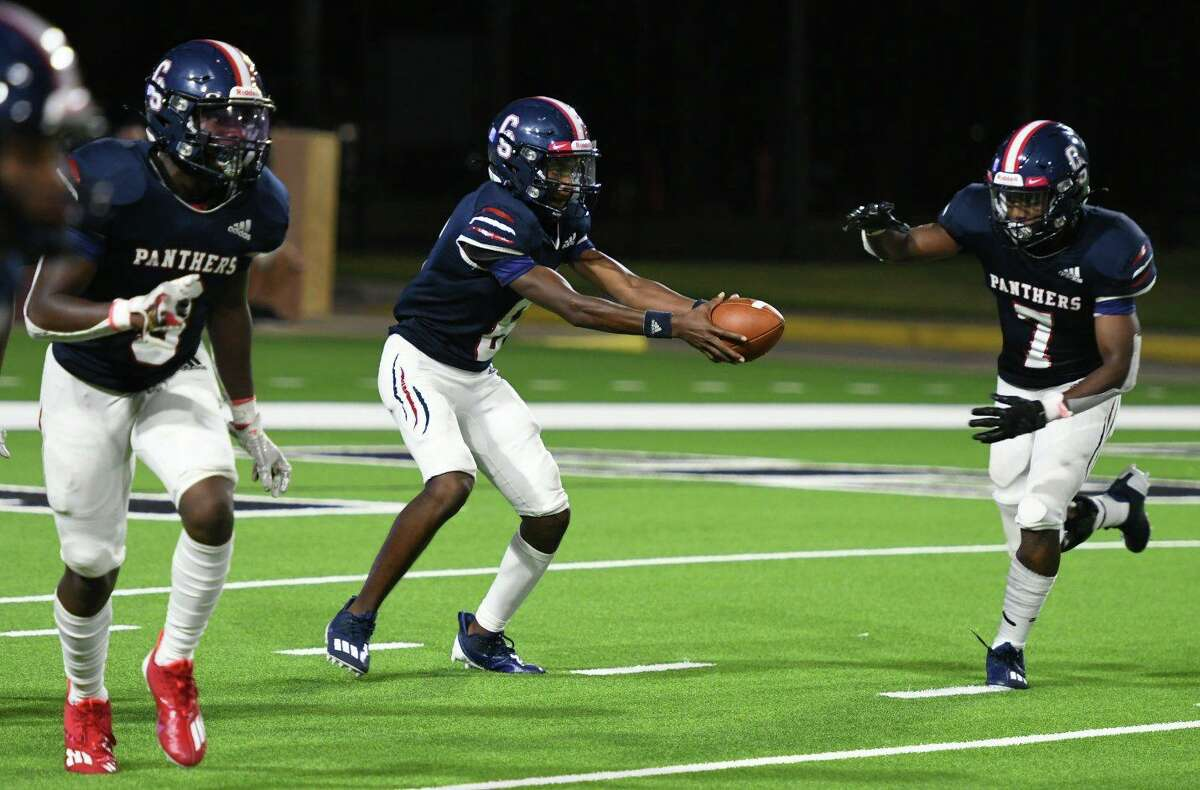Cy Springs suffered a 33-29 loss against Katy Taylor in the 2021 non-district season opener under new head coach Oji Fagan, Aug. 27, at Cy-Fair FCU Stadium.