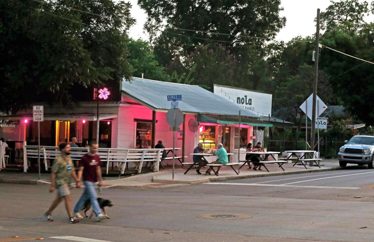 San Antonio's Eat on the Street program made room for four extra tables outside Cullum's Attagirl Ice House, effectively tripling the tiny restaurant's capacity.