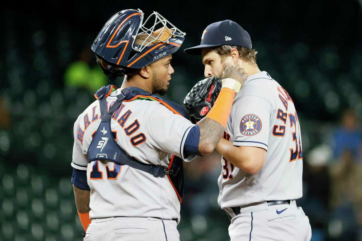 Catcher Martín Maldonado may be the most indispensable Astro, but the team faces a delicate balance in who much it uses him.