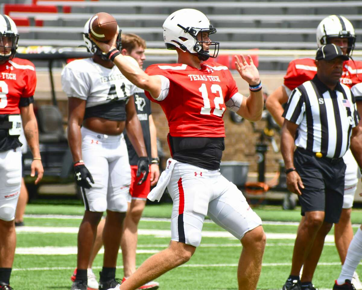 Tyler Shough will look to become the sixth-straight Texas Tech quarterback to win his first start when the Red Raiders face Houston on Saturday in NRG Stadium.