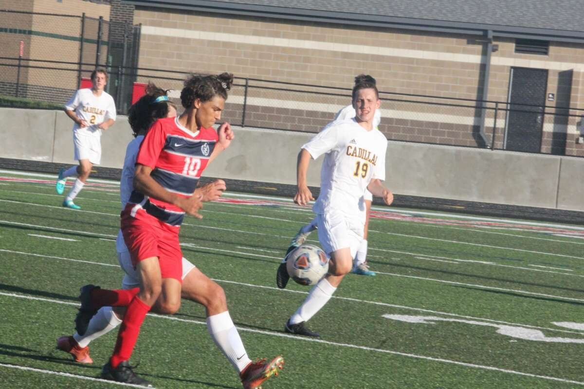 Big Rapids and Cadillac soccer teams battled to a 1-1 tie on Wednesday.
