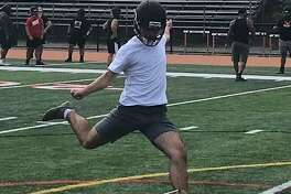Cristiano Rosa is fifth in a line of placekicker-punters at Shelton that have helped the Gaels post an 81-23 record the past nine seasons.