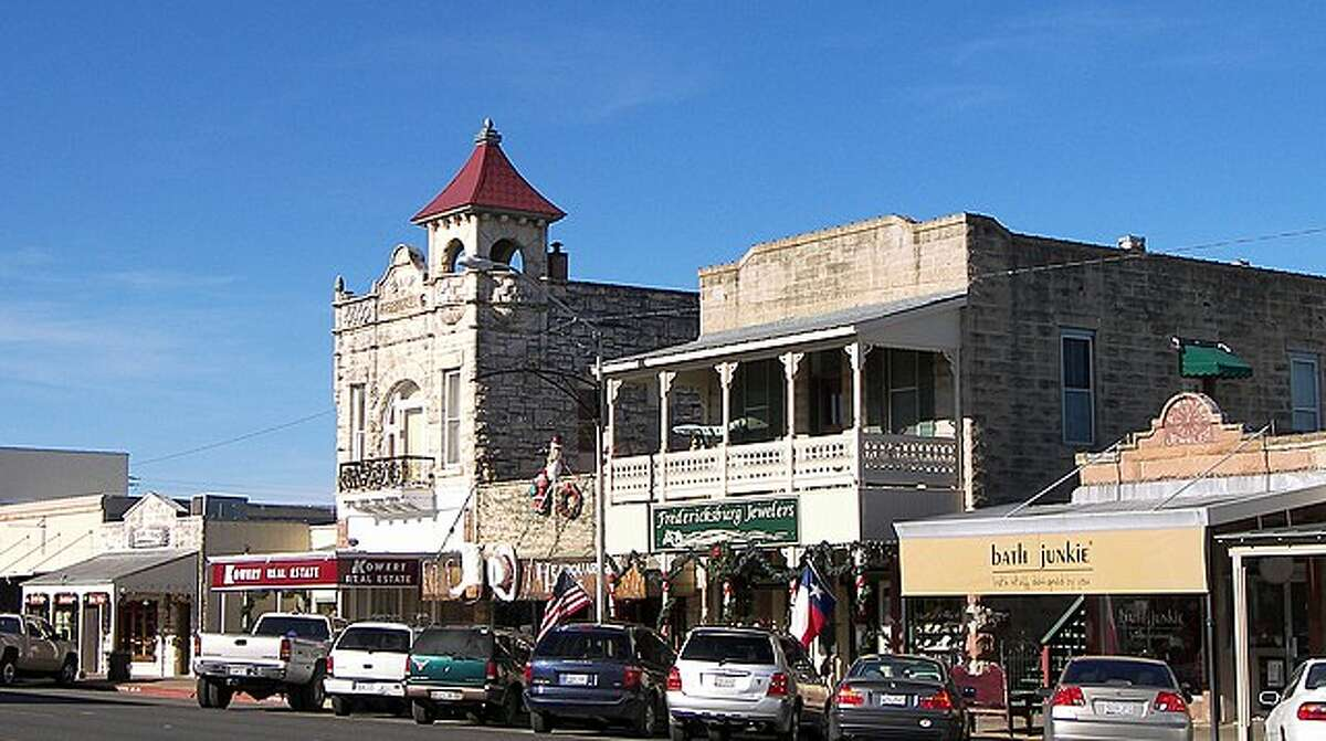 The architecture tells the story of Fredericksburg.