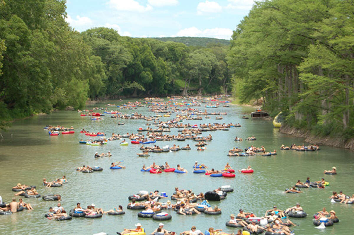 Tubing is a summer staple in the Texas Hill Country.