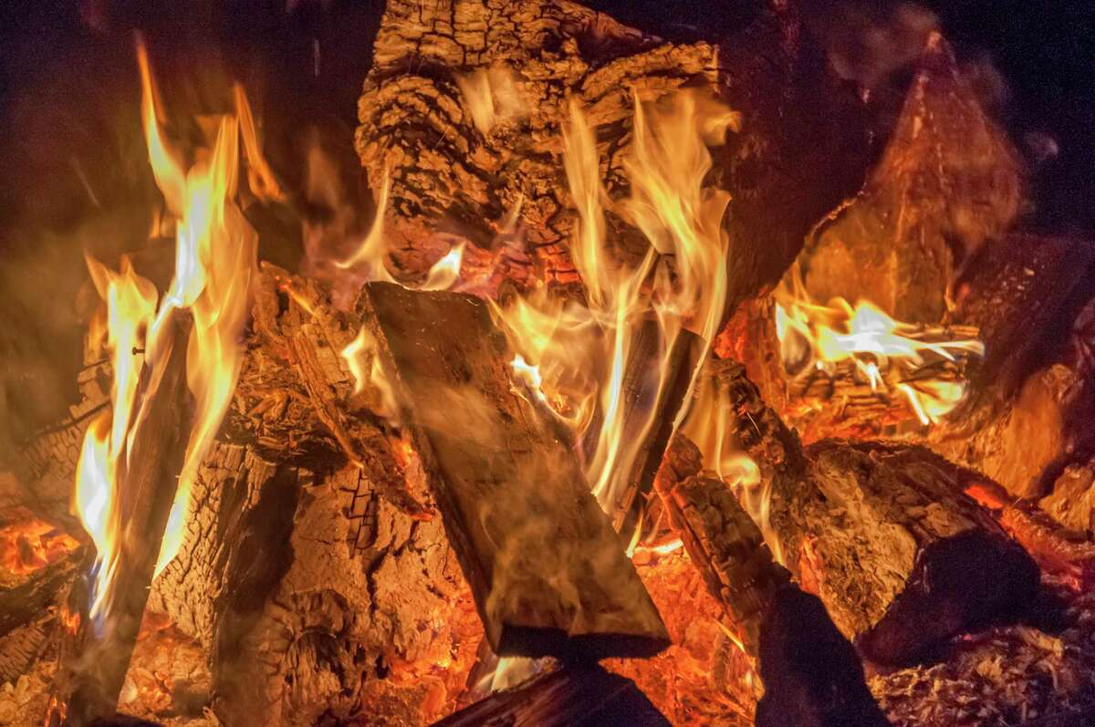 Enjoy a campfire safely this weekend by following tips from the Michigan Department of Natural Resources.(Photo by: Education Images/Universal Images Group via Getty Images)