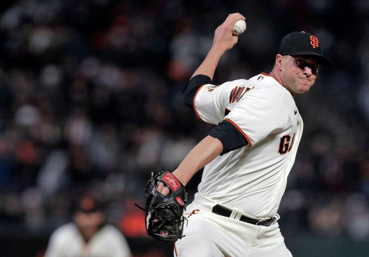 Tony Watson and the Giants begin a series against the Rockies in Denver at 1 p.m. Monday. (NBCSBA, ESPN)