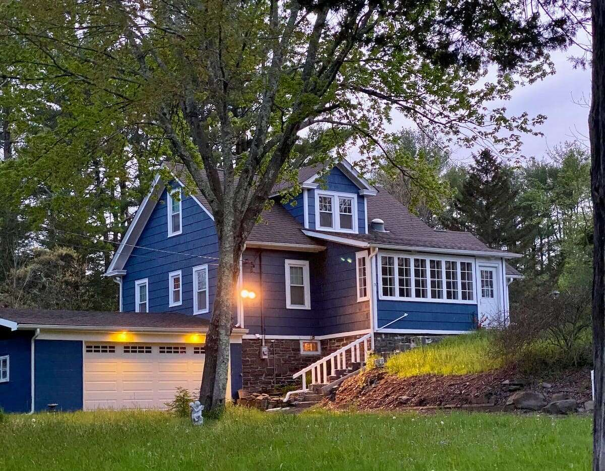 Kathy Corby's Saugerties Airbnb, pictured above, provides a significant financial boost in her retirement.