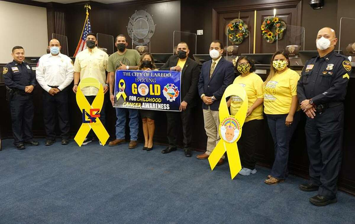 A ceremony was held Wednesday at City Hall Council Chambers proclaiming September 2021 as Childhood Cancer Awareness Month.