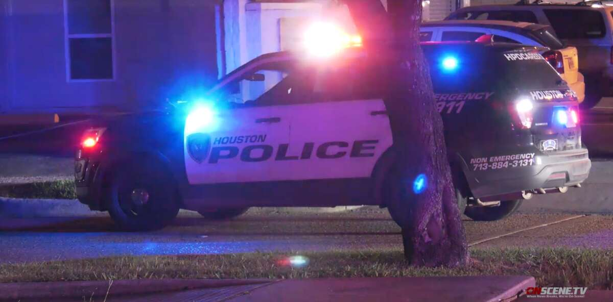 A female shot her estranged boyfriend - who later died - when he was trying to break into an apartment early Thursday morning in southwest Houston, according to officials.