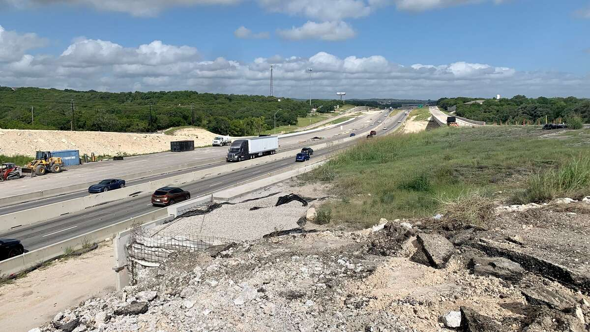 The main lanes of Interstate 10 reopened to traffic after state transportation officials removed old Main Street bridge in Boerne. A similar effort is planned nearby along the eastbound frontage road and Bandera Road intersection.