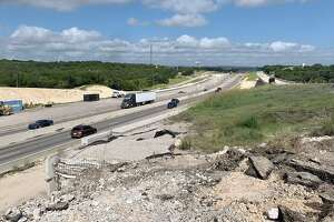 The main lanes of Interstate 10 reopened to traffic after state transportation officials removed old S. Main Street bridge in Boerne. A similar effort is planned nearby along the eastbound frontage road and Bandera Road intersection.