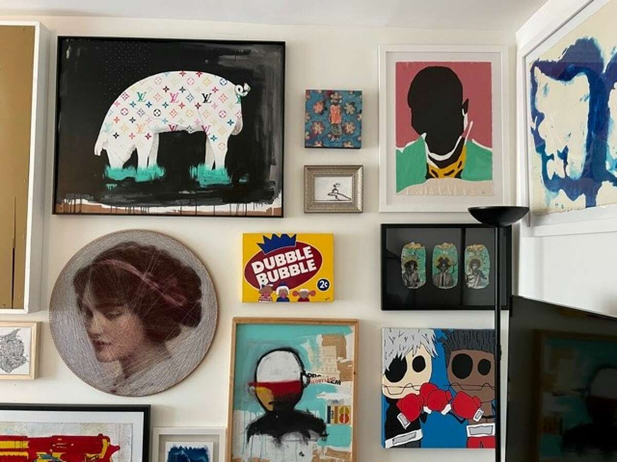 Throughout the pandemic artist Guy Stanley Philoche has invested in other artists and has amassed his own art collection.