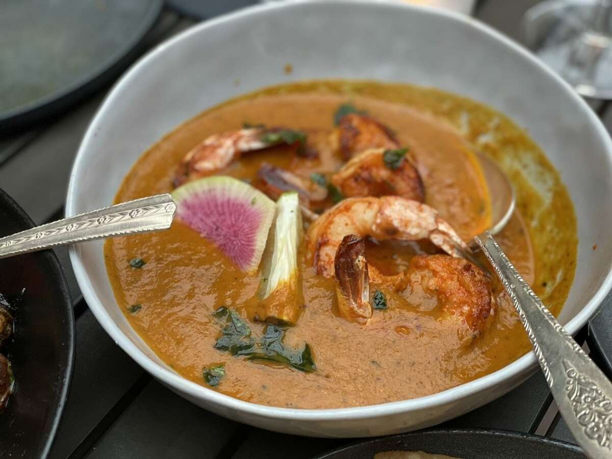 Shrimp curry from Meesha