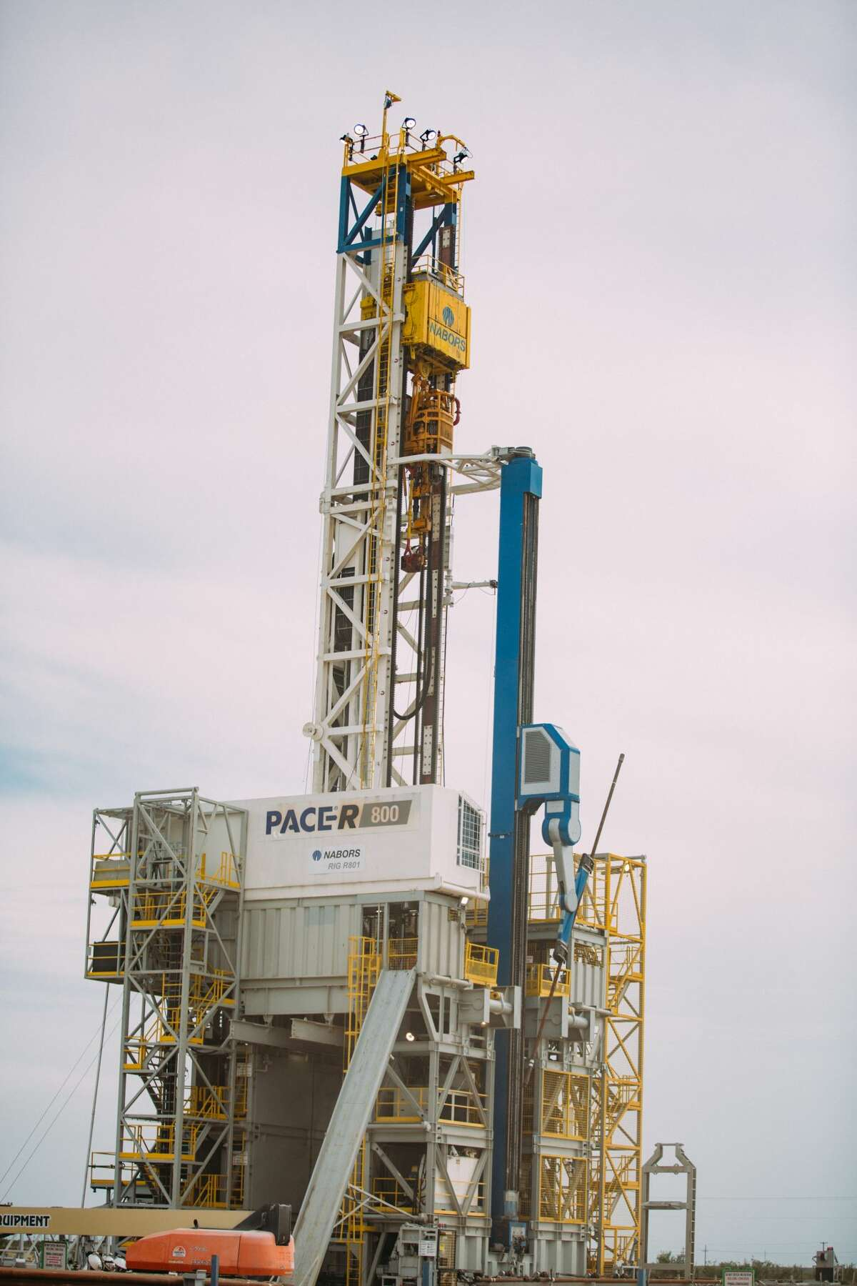 Nabors Industries has unveiled its PACE R801 fully automated drilling rig, being tested in Midland County.