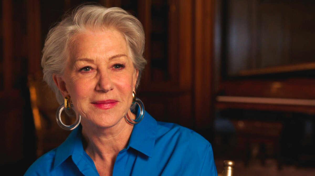 "Helen Mirren in ""On Broadway."""