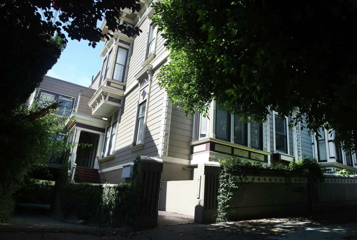 The Mission District apartment building where Dale Duncan lived with his wife Marta Munoz and daughter Emilia is seen in San Francisco. Duncan, who lived in the same unit for 21 years, was awarded $2.7 million dollars after a judgment against a San Francisco landlord accused of terrorizing them in an effort to oust them in favor of higher-paying tenants.