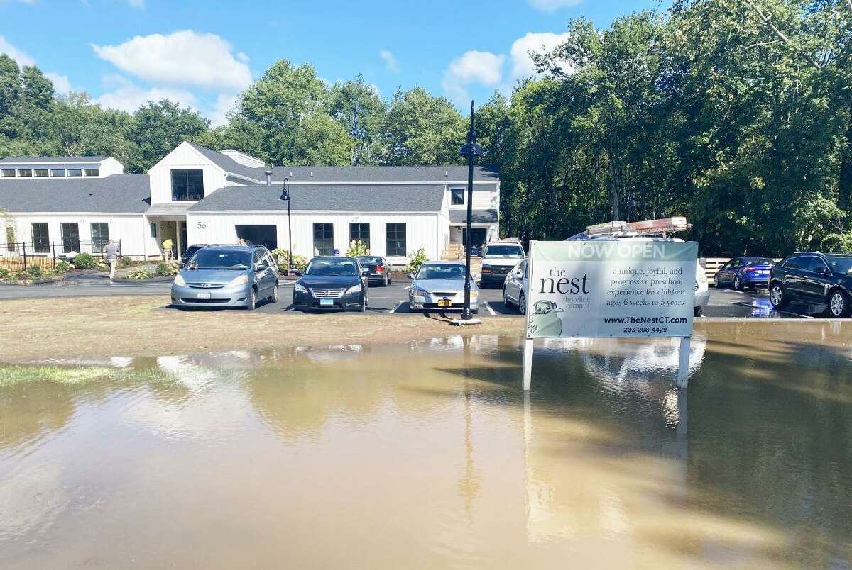 The Nest preschool in Branford has not flooded in the past few years, staff said.