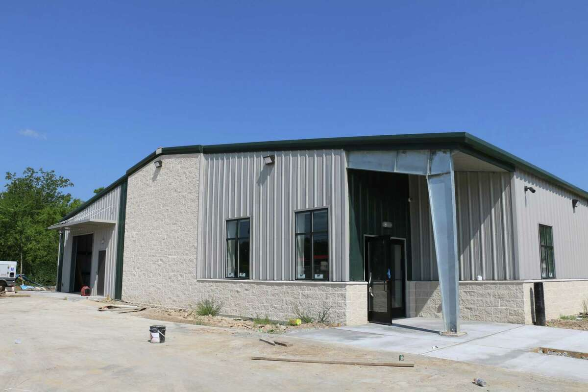 CAM's new building, shown here under construction, is located off Cypress N. Houston Road in Cypress.