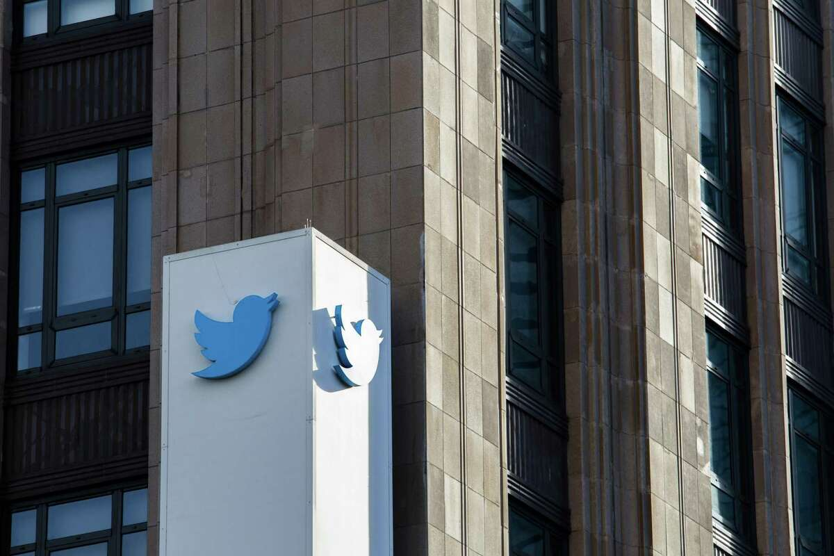 Twitter headquarters in San Francisco, California, U.S., on Monday, Jan. 11, 2021. Twitter Inc. permanently banned Trump's personal account for breaking its rules against glorifying violence, marking the most high-profile punishment the company has ever imposed and the end of Trump's relationship with his favorite social media megaphone.