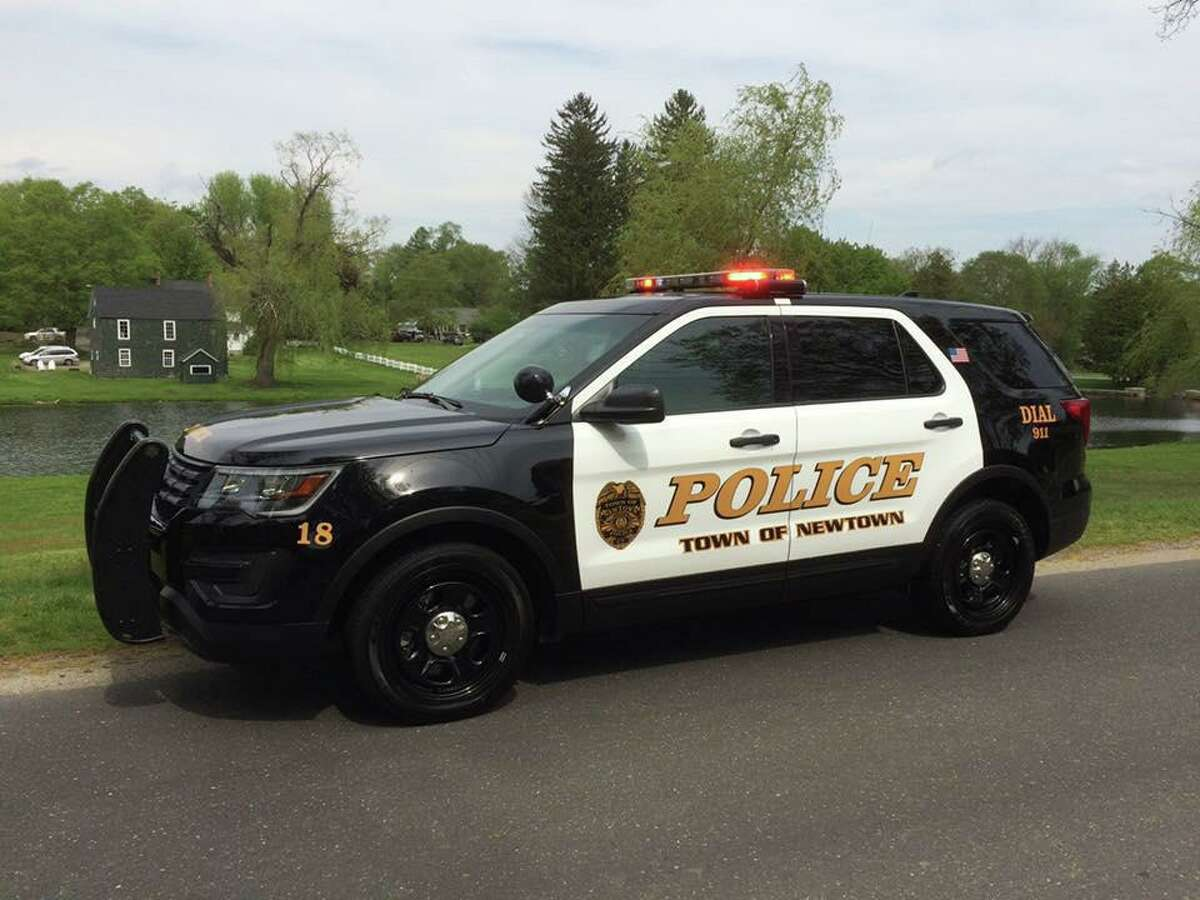 Newtown Police DepartmentSUV.