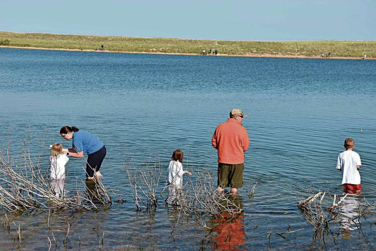 The Manistee County Sport Fishing Association's annual Kids Fish event was created to help children develop an interest in fishing.