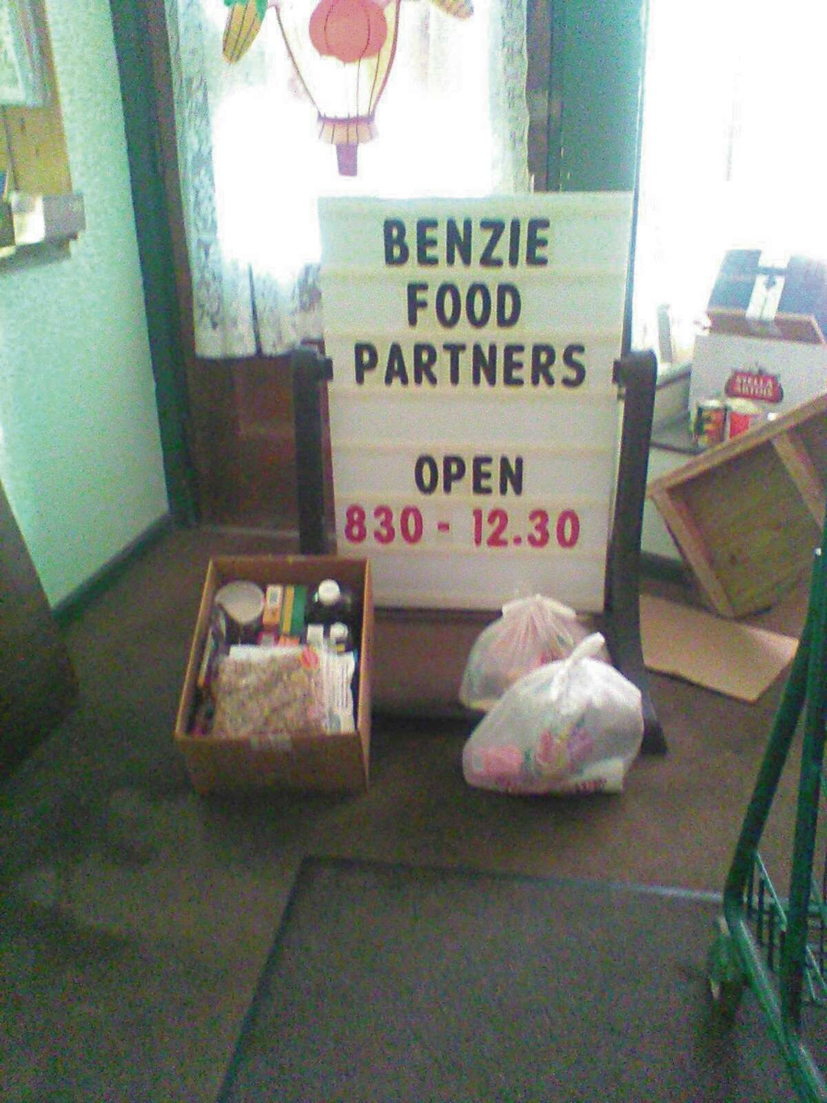 The Benzie Food Partners have continued to keep volunteers and guests safe while feeding neighbors in Benzie. (Courtesy Photo)
