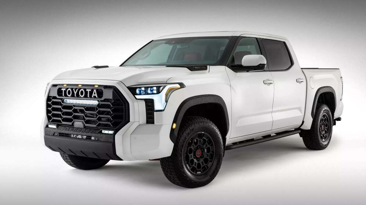 The redesigned 2022 Tundra. Sales of the current-generation Tundra have tumbled as Toyota prepares to begin production of the new model in San Antonio later this year.