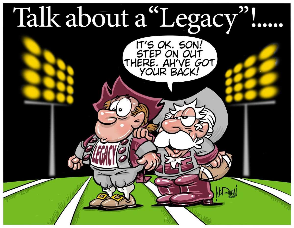 Lee passes the baton to Legacy